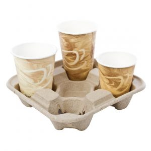 4 Cup Carry Trays