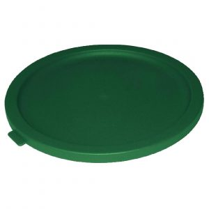Vogue Round Food Storage Container Lid Green Small