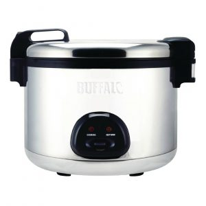 Buffalo Commercial Large Rice Cooker 9Ltr