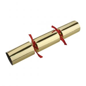 "Fiesta Red & Gold 9"" Christmas Crackers"