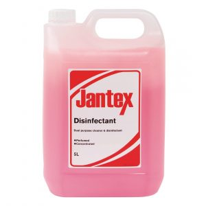 Jantex Dual Purpose Cleaner and Disinfectant 5 Litre (Pack of 2)