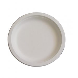 Fiesta Green Compostable Bagasse Plates 179mm