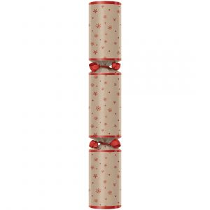 "Northern Lights Kraft 11"" Christmas Crackers"