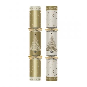 "Winter Wonderland Premium 12"" Christmas Crackers"