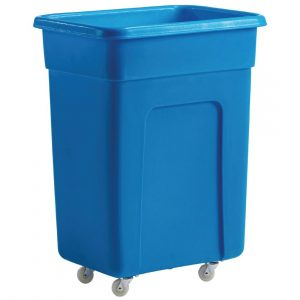 Blue Polyethylene Trolley Small