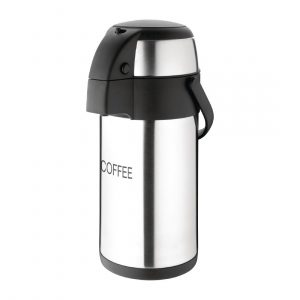 Olympia Pump Action Airpot Etched 'Coffee' 3Ltr