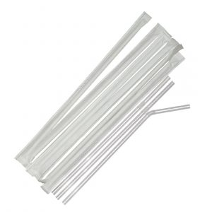 Fiesta Paper Wrapped Plastic Straws