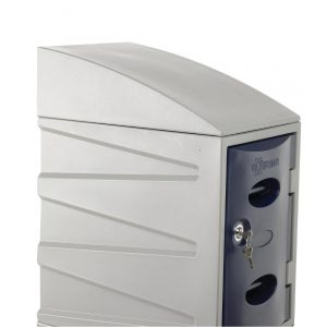 Sloping Top for Extreme Plastic Lockers