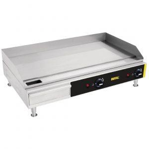 Buffalo Countertop Extra Wide Steel Plate Griddle