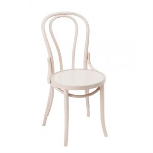 Fameg Bentwood Bistro Side Chairs Whitewash (Pack of 2)