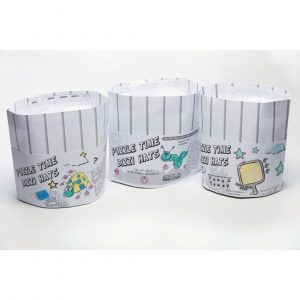 Crafti's Bizzi Kids Paper Chef Hats