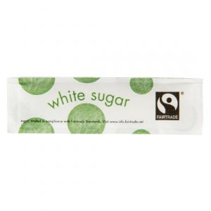 Vegware Compostable Fairtrade White Sugar Sticks