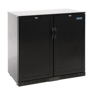 Polar Back Bar Cooler with Solid Doors 208Ltr