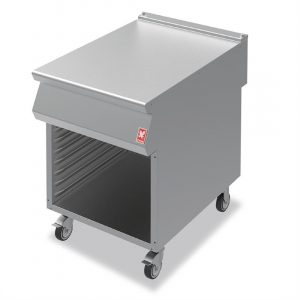 Falcon F900 Open Cabinet With Pressed Runners on Castors N961
