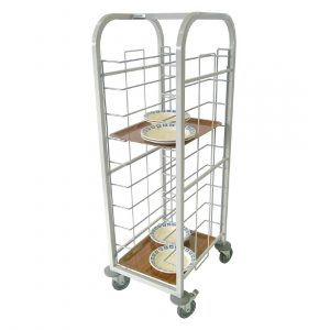 Craven Steel Self Clearing Trolley 10 Shelves