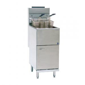 Pitco Single Tank Twin Basket Free Standing Natural Gas Fryer CE-35CS