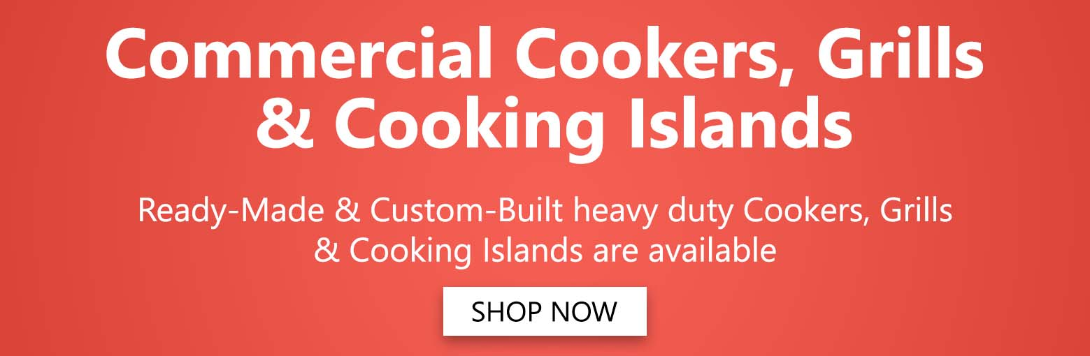 Commercial Cookers, Grills & Cooking Islands