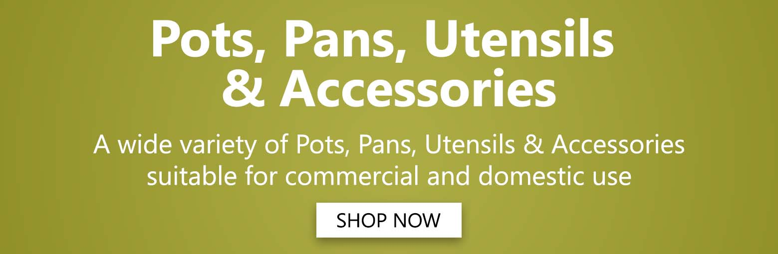 Pots, Pans, Utensils & Accessories